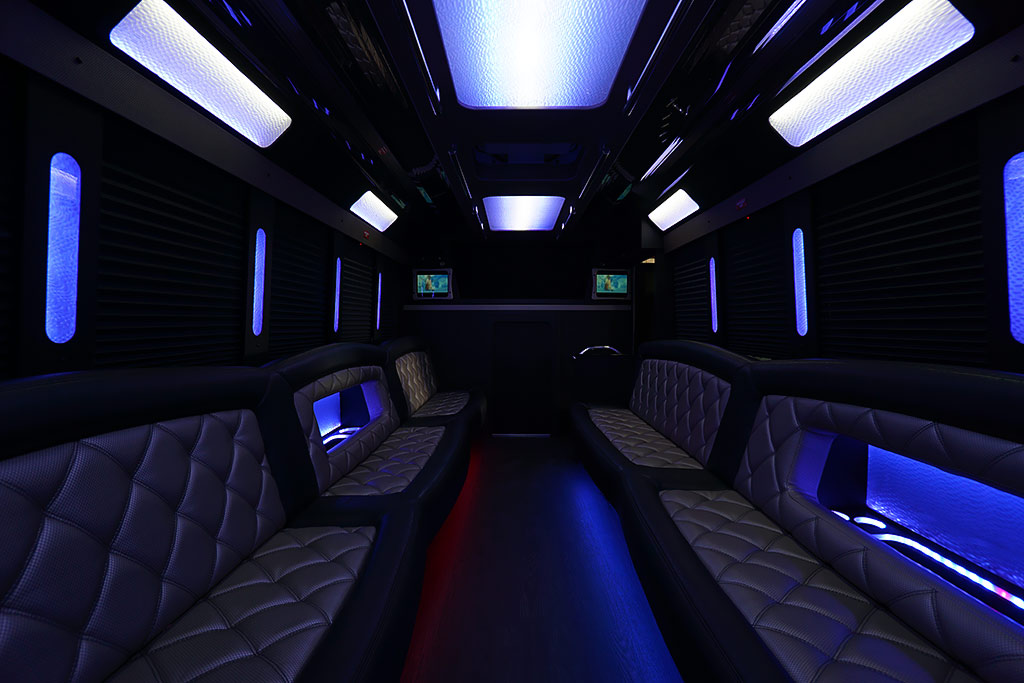 24 Passenger Coach Party Bus