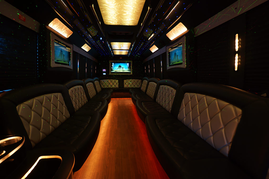 30-35 Passenger Coach Party Bus