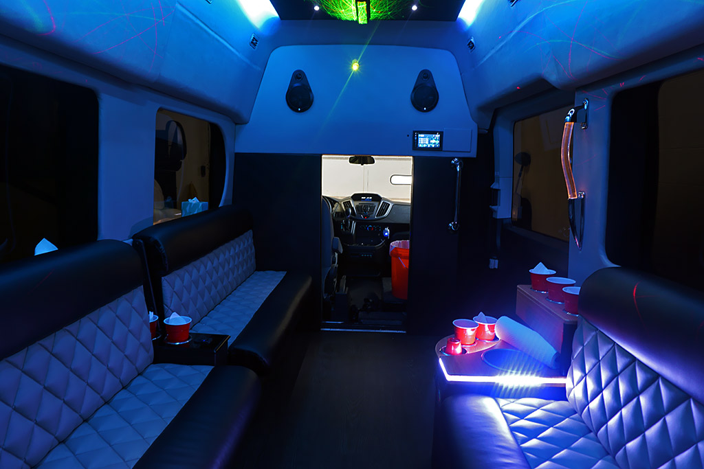 Ford Transit Coach Party Bus
